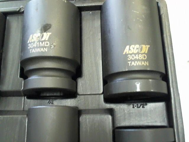ASCOT Sockets/Ratchet SOCKETS