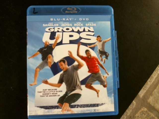 BLU-RAY MOVIE Blu-Ray GROWN UPS 2
