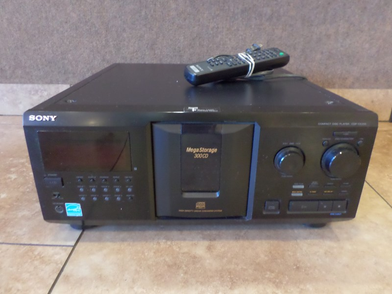 SONY CD Player & Recorder CDP-CX355