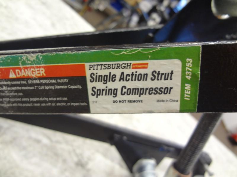PITTSBURGH 43753 SINGLE ACTION STRUT SPRING COMPRESSOR