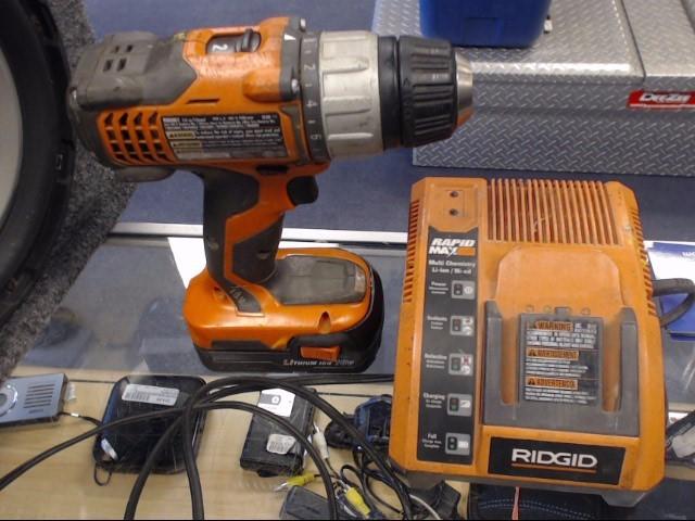RIDGID TOOLS Cordless Drill R86007