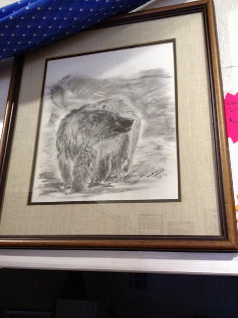 POLAR BEAR DRAWING