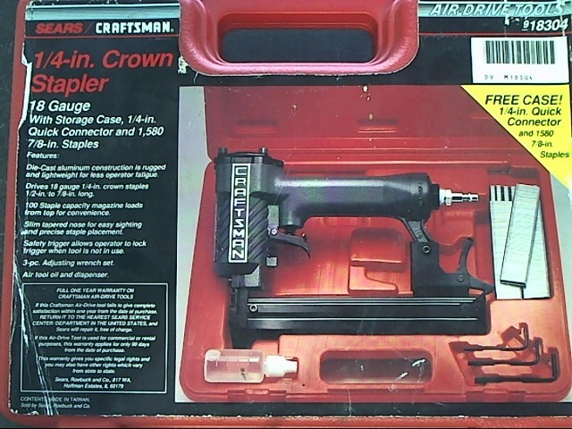 CRAFTSMAN Nailer/Stapler 351.183000