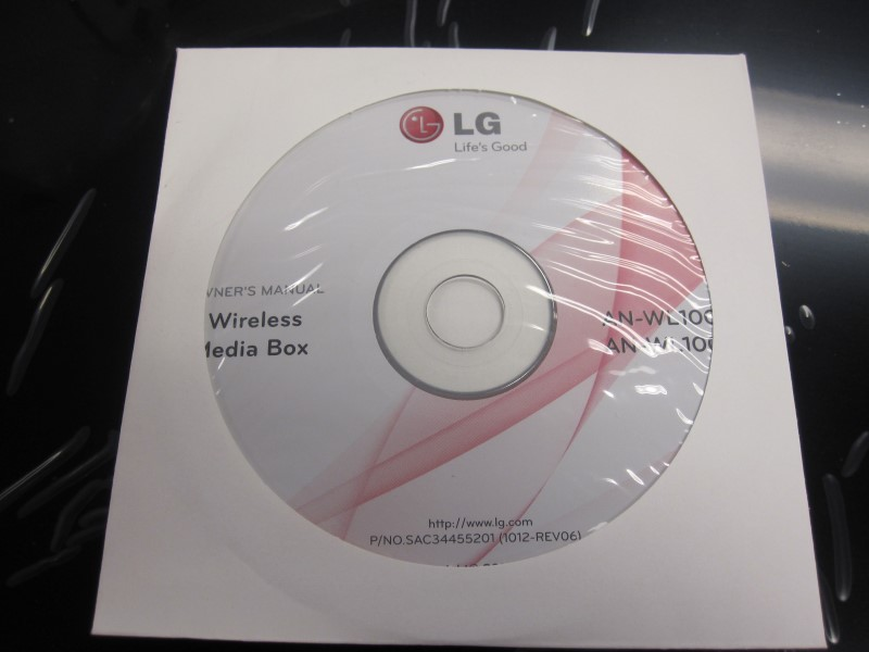 LG Home Media System AN-WL100