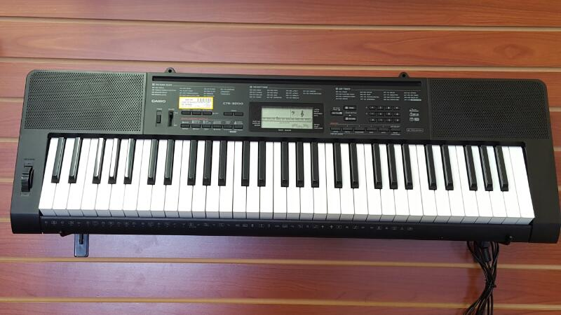 CASIO KEYBOARD 61-KEYS PPK PREMIUM PACKAGE CTK-3200