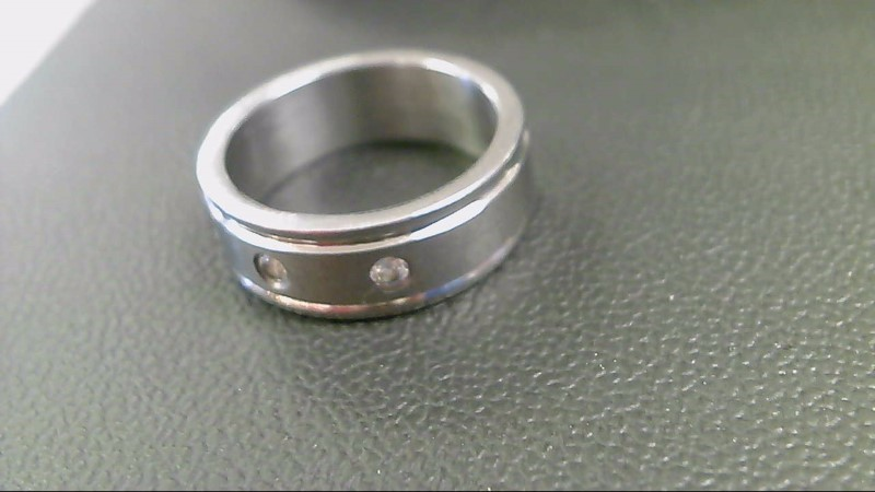 Gent's Ring Silver Stainless 8g