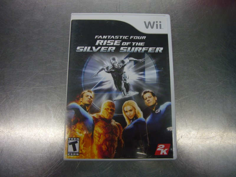 NINTENDO Nintendo Wii Game FANTASTIC FOUR RISE OF THE SILVER SURFER
