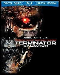 BLU-RAY MOVIE Blu-Ray TERMINATOR SALVATION DIRECTORS CUT