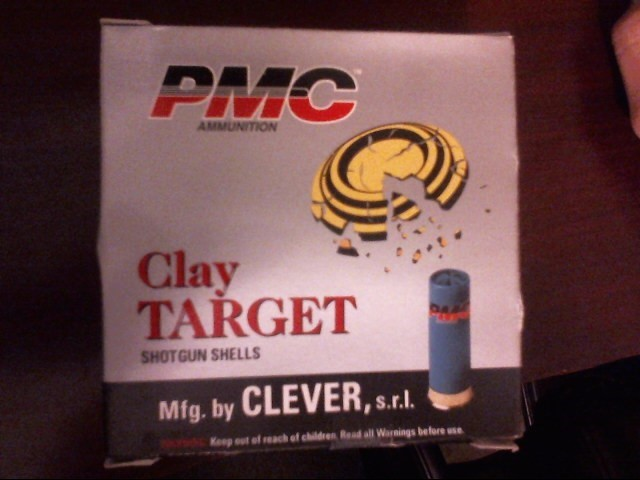 PMC AMMUNITION 12 GA 12 gauge CLAY TARGET SHOTGUN SHELLS