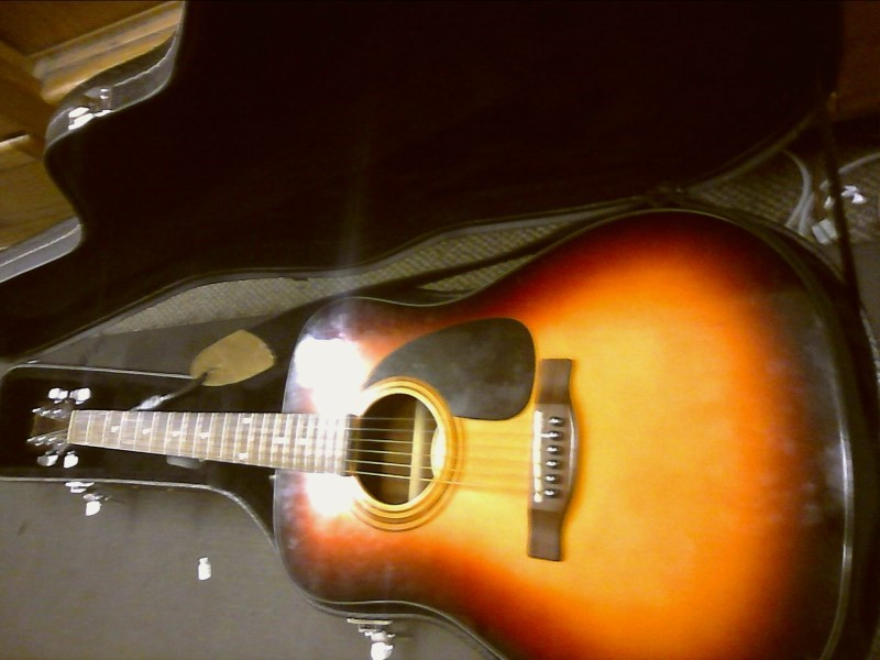 FENDER Acoustic Guitar CD-60 SBST