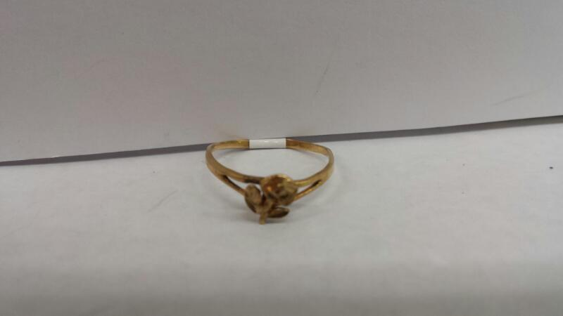 "10k Yellow Gold Ring ""Flower"""