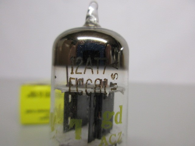 TWO 12AT7 PREAMP TUBES, TEST GOOD