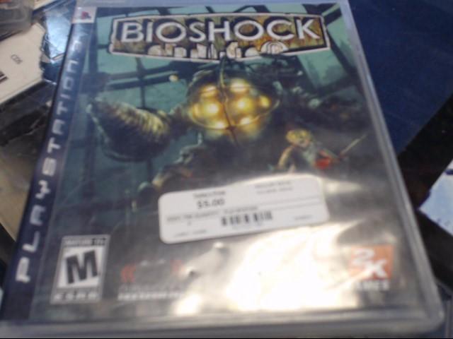 SONY PS3 BIOSHOCK