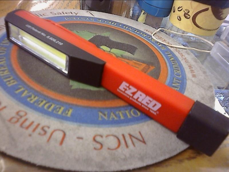 EZ RED Flashlight PCOB POCKET LIGHT STICK