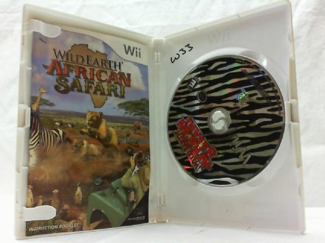 NINTENDO Nintendo Wii Game WILD EARTH: AFRICAN SAFARI