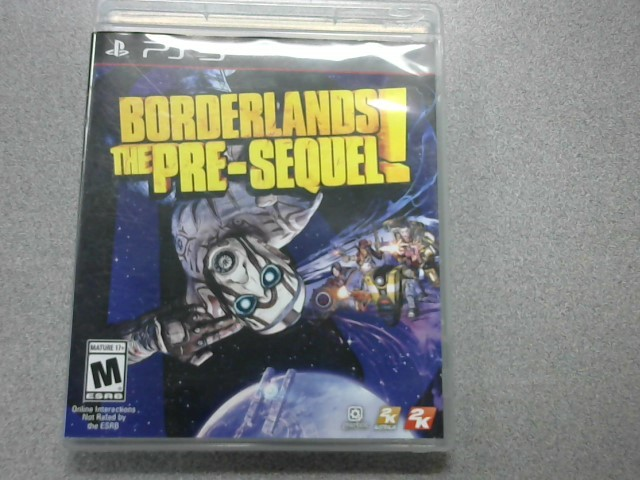 SONY Sony PlayStation 3 Game PS3 BORDERLANDS PRE SEQUEL