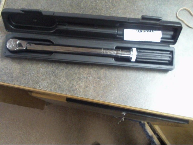 HUSKY Torque Wrench 564394 foot pounds like new