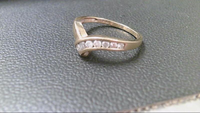 Lady's Diamond Fashion Ring 7 Diamonds .39 Carat T.W. 10K Yellow Gold 2.3g