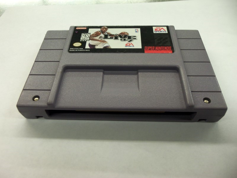 """SNES NBA LIVE 97 """"GAME ONLY"""""""