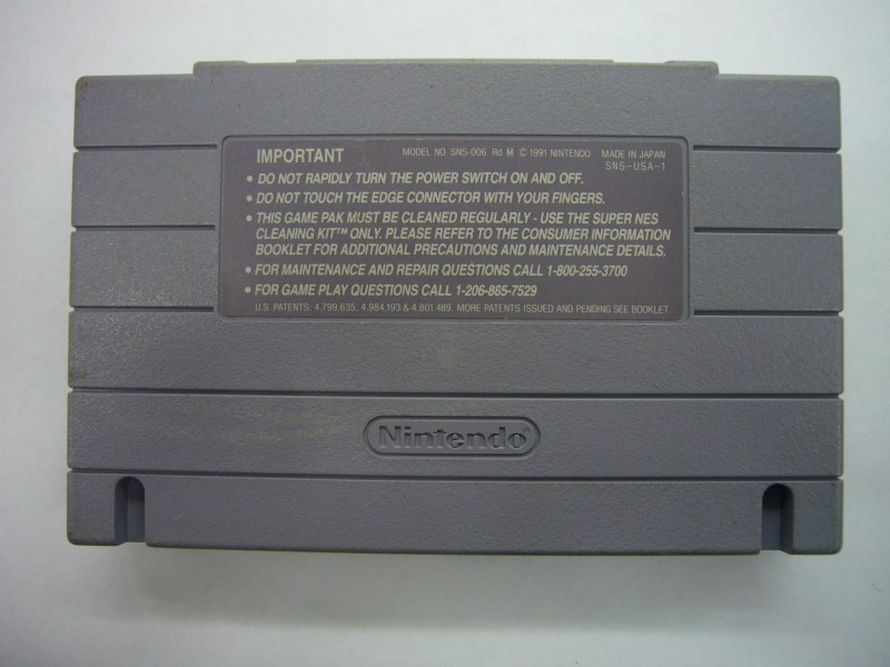 NINTENDO SNES Game PIT-FIGHTER *CARTRIDGE ONLY*