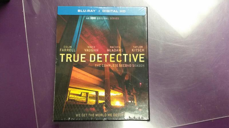 NEW True Detective: The Complete Second Season 2 on Blu Ray