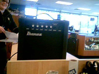 IBANEZ Electric Guitar Amp GTA10