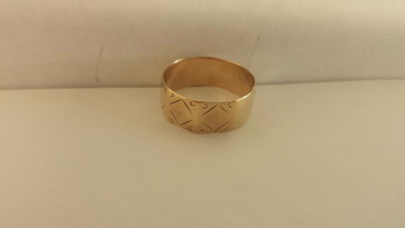 Lds 10K-YG Wedding Band 1.8Dwt Size:10
