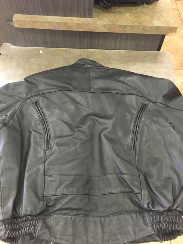 HARLEY DAVIDSON Coat/Jacket LEATHER JACKET MENS