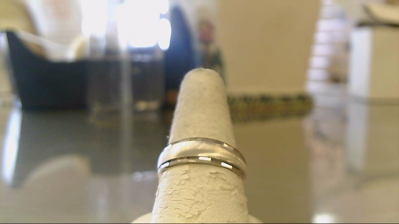 Gent's Gold Ring 14K White Gold 4.5g Size:9