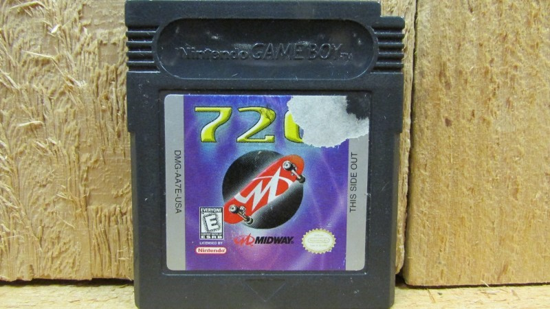 NINTENDO Vintage Game 720 DEGREES