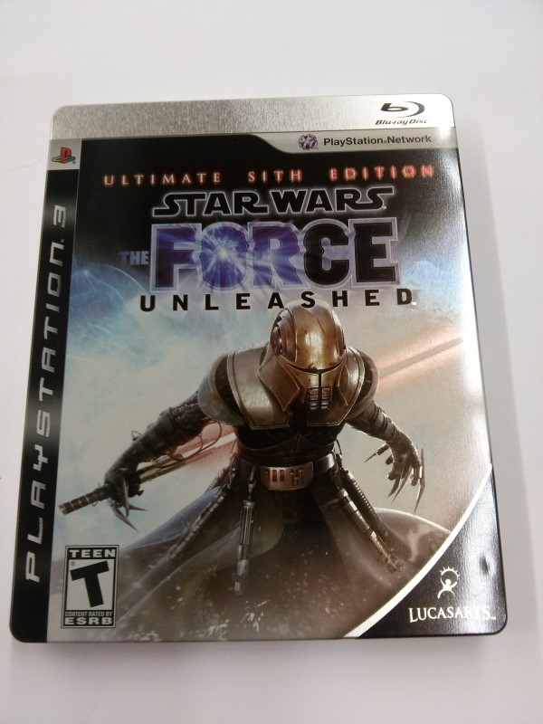 FORCE UNLEASHED SITH EDITION PS3