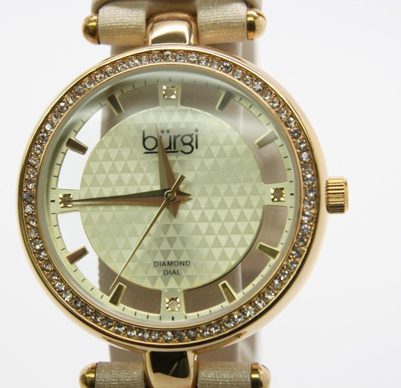 BURGI LADY'S WATCH BUR104YG