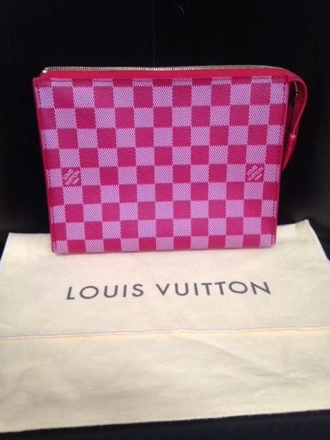 LOUIS VUITTON Handbag DAMIER ELEMENT CLUTCH