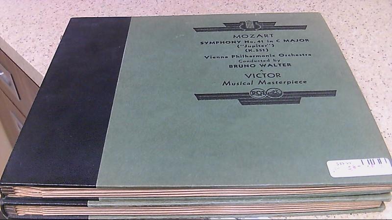 Mozart/Symphony No 41 in C Major Jupiter Vinyl