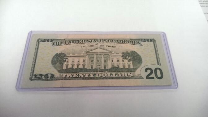 2009 $20 STAR NOTE