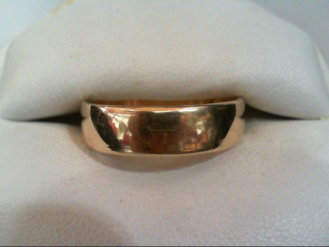 Gent's Gold Wedding Band 10K Yellow Gold 5.7g