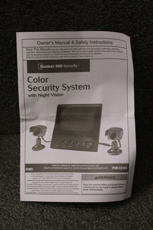 Bunker Hill Security Camera Manual 62463 - Collections