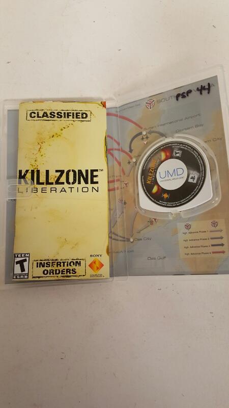 Killzone liberation PSP FREE SHIPPING