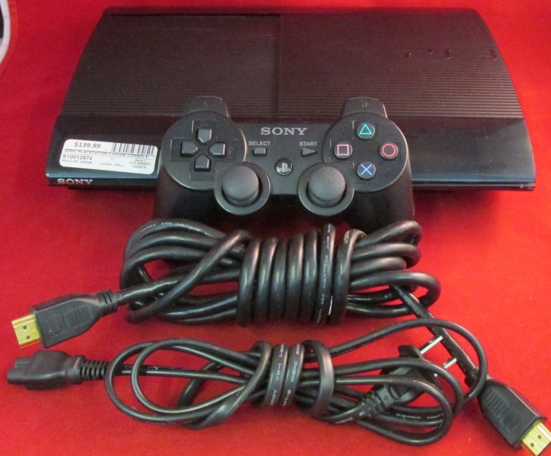 SONY PlayStation 3 - SYSTEM - 500GB - CECH-4001C