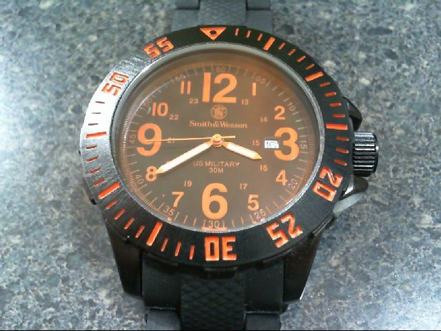 SMITH AND WESSON WATCH US MILITARY WATCH