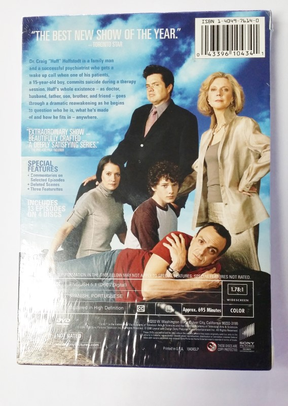 HUFF - The Complete First Season 1 BRAND NEW SEALED!!