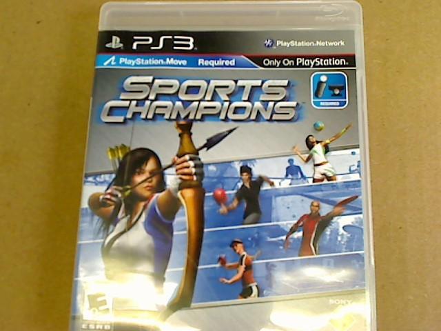 PS3 - SPORTS CHAMPIONS