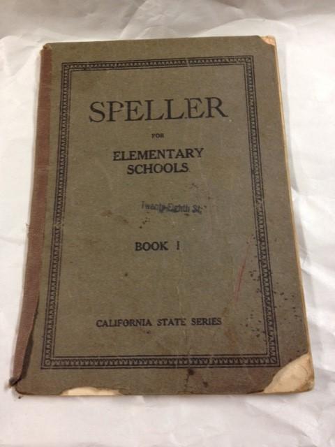 SPELLER- 1918
