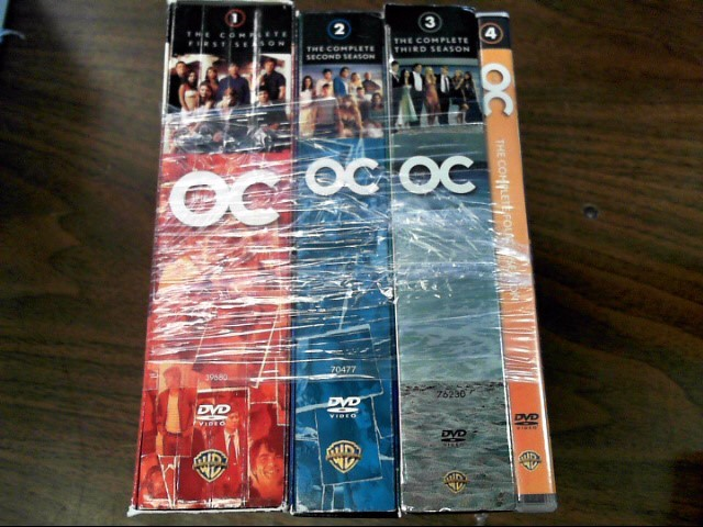 DVD BOX SET DVD THE OC THE COMPLETE SERIES