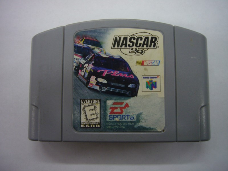 NINTENDO 64 Game NASCAR 99 *CARTRIDGE ONLY*