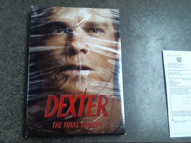 DVD BOX SET DVD DEXTER THE FINAL SEASON