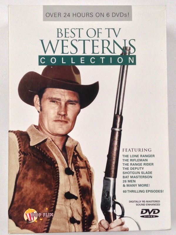 DVD BOX SET BEST OF TV WESTERNS COLLECTION 6 DVD SET