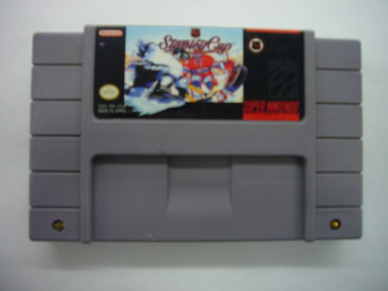 NINTENDO SNES Game NHL STANLEY CUP *CARTRIDGE ONLY*