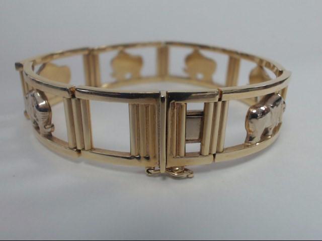 Gold Bracelet 14K Yellow Gold 26.5g