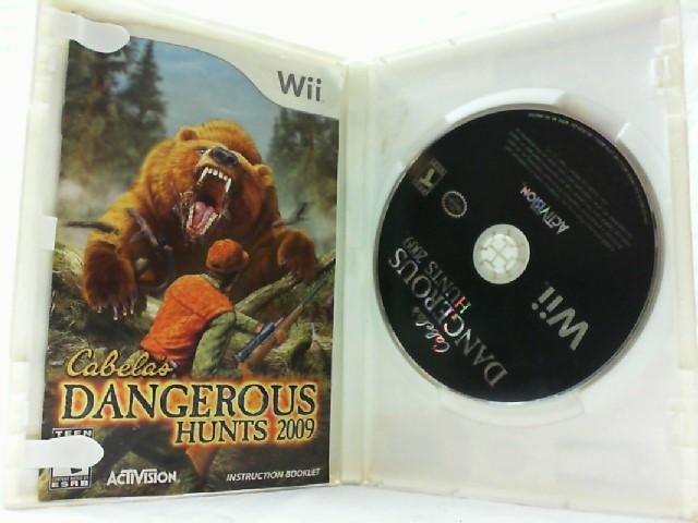 NINTENDO Nintendo Wii Game CABELA'S DANGEROUS HUNTS 2009